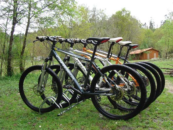 Mountain bikes of the trade mark Orbea
